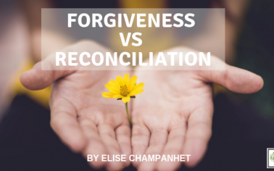 Forgiveness VS Reconciliation